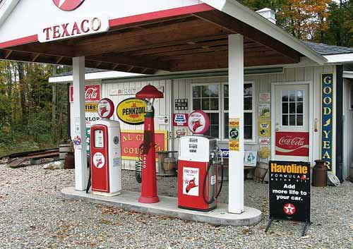 Texaco Station Web Sites
